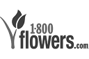 1-800-Flowers: logo in greyscale