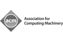 Association for Computing Machinery: logo in greyscale