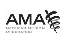 American Medical Association: logo in greyscale