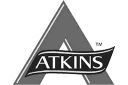 Atkins: logo in color