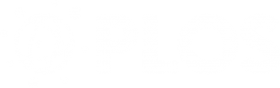 PLOS: logo in white