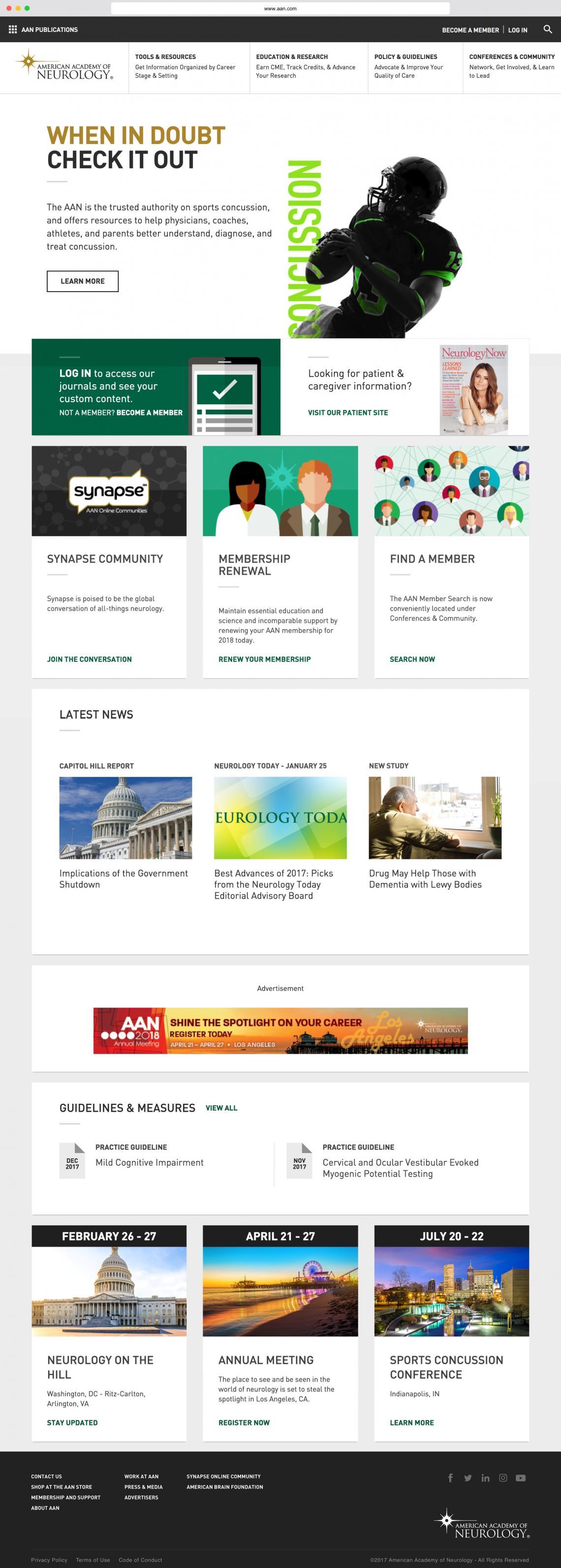 American Academy of Neurology | Digital Pulp